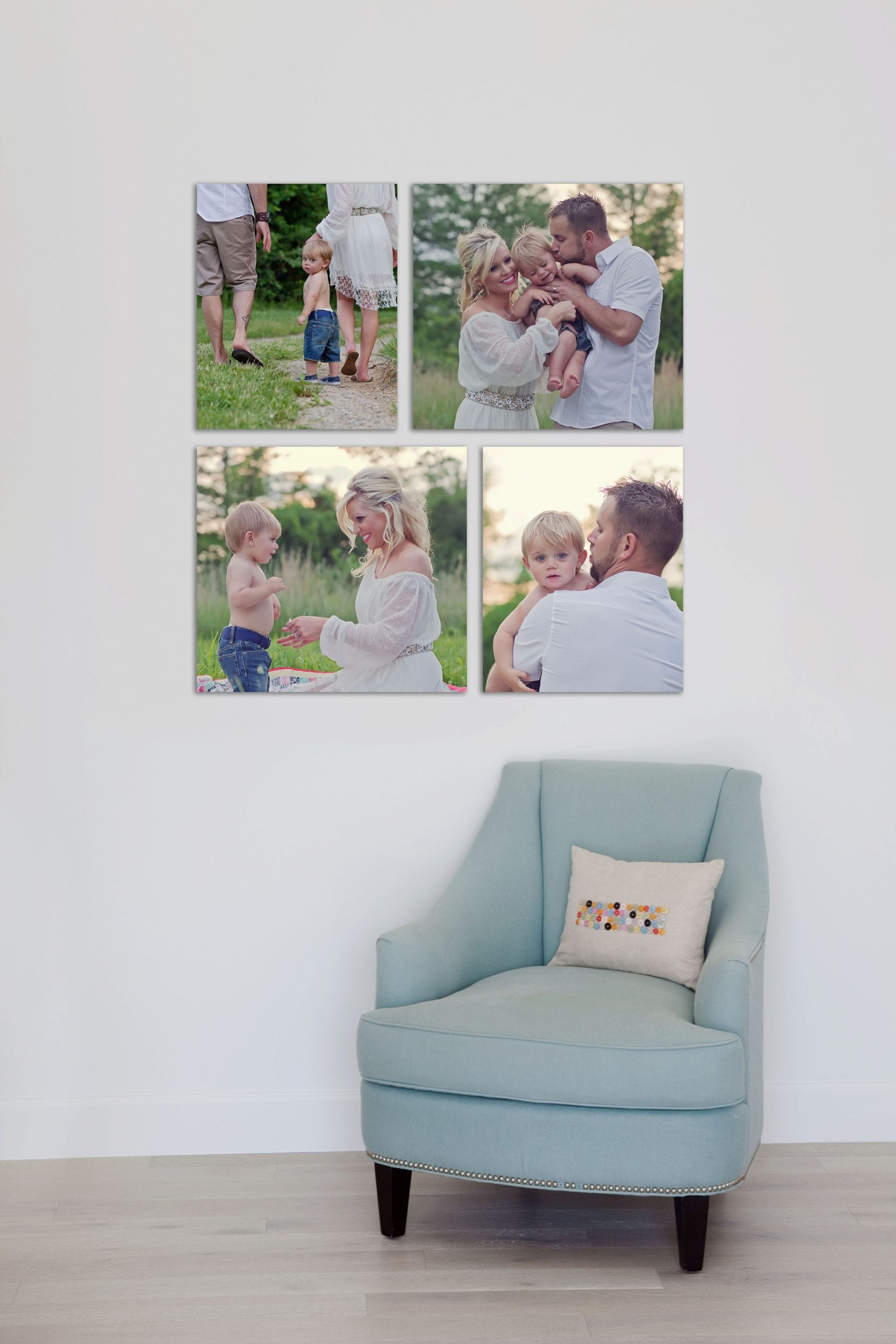 Family Pictures, canvas grouping