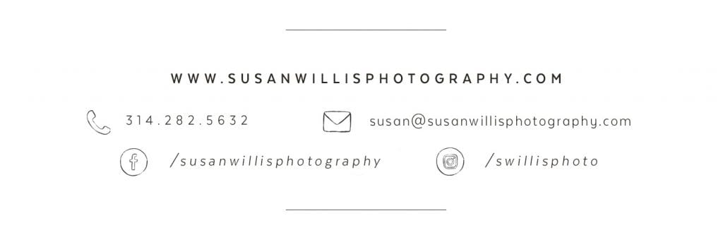 Susan Willis Photography Contact Information